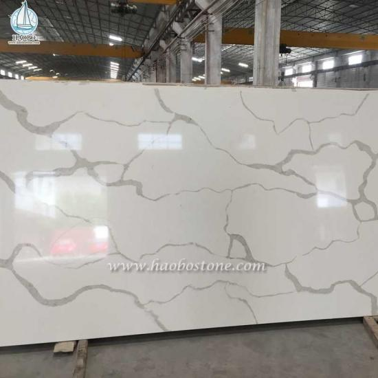 Calacatta Gold White Marble Polished Slab